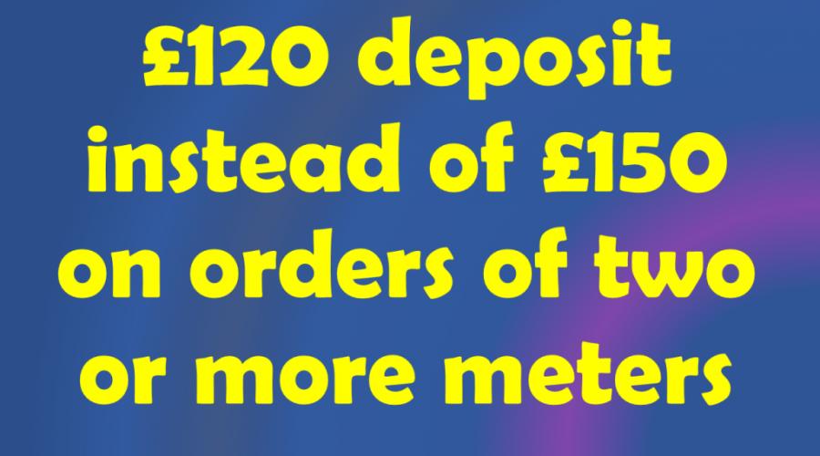 Reduced Deposit Promotion
